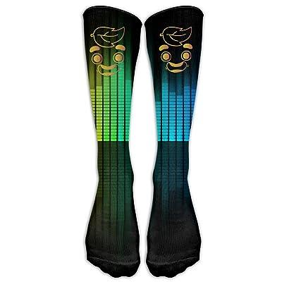 Gold Guava Juice FaceCompression Socks For Women And Men - Best Medical, Nursing, Travel & Flight Socks - Running Fitness
