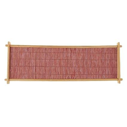 non-brand Sharplace Bandeja de Madera de Bambú para Servir Comida y Bebidas Herramientas Ecológicos