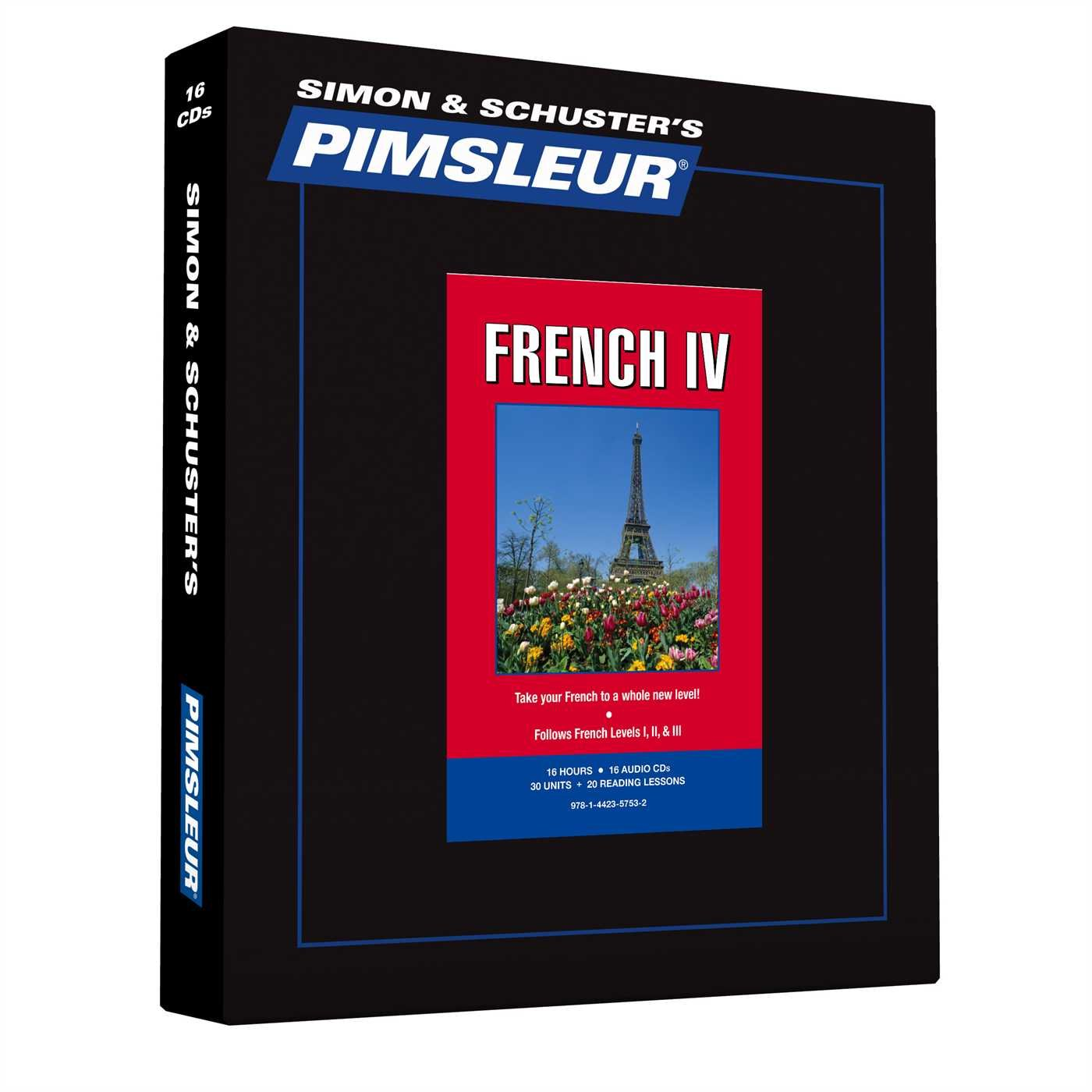 Pimsleur French Level 4 CD: Learn to Speak and Understand French with Pimsleur Language Programs (Comprehensive) by Brand: Pimsleur