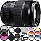 Fujifilm XF 18-135mm f/3.5-5.6 R LM OIS WR Lens 11PC Accessory Bundle – Includes Manufacturer Accessories + 3PC Filter Kit (UV + CPL + FLD) + MORE (Certified Refurbished)