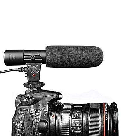 Eleganantamazing - Micrófono de cámara Digital de 3,5 mm para ...