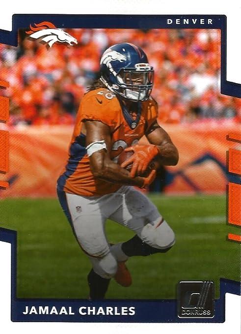 Amazon.com: Football NFL 2017 Donruss #295 Jamaal Charles Broncos ...