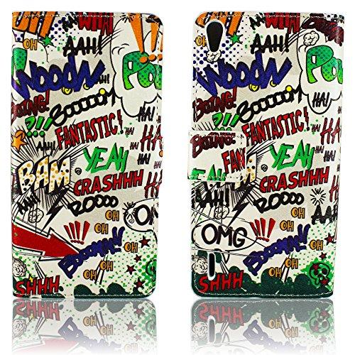 carcasa Case Huawei Ascend Y330 silicona torre Eiffel de París LA TOUR diseño de protección contra la caja del teléfono pegatina de thematys® Funda Cómic Haha