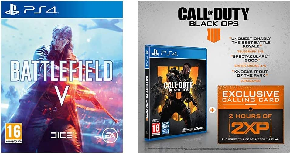 Battlefield V + Call of Duty: Black Ops 4 - - PlayStation 4 ...