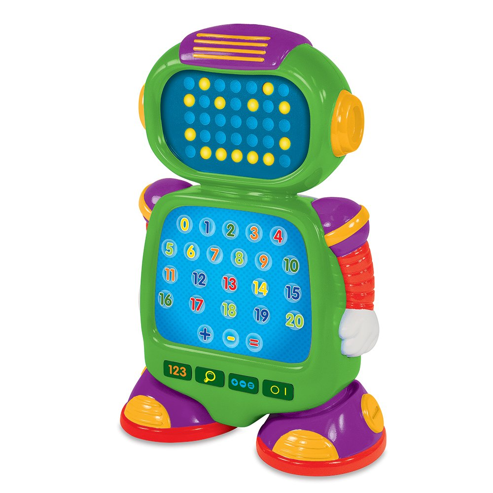 The Learning Journey 115244 Touch and Learn Numberbot Electronic# and Math Toy Multicolor