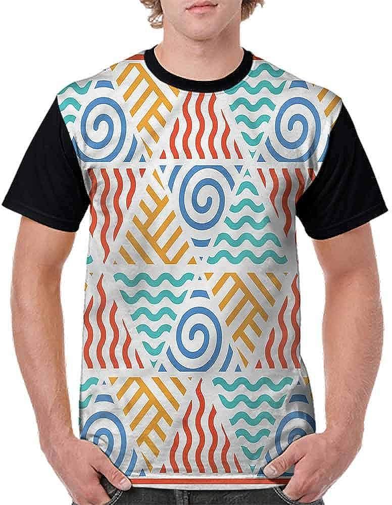 BlountDecor Performance T-Shirt,Old Wine Shop Sign Fashion Personality Customization