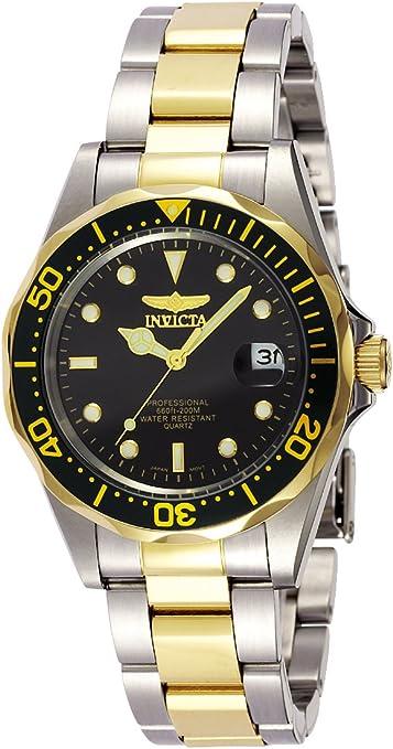 Invicta 8934 Pro Diver Reloj Unisex acero inoxidable Cuarzo Esfera negro