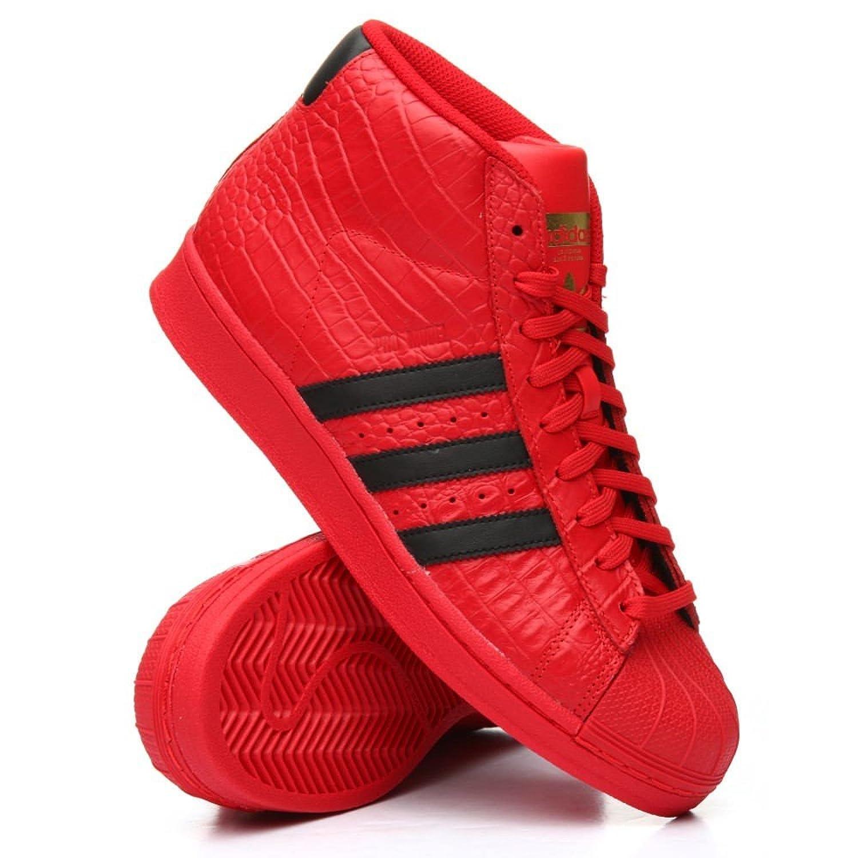 (アディダス) Adidas メンズ シューズ靴 スニーカー pro model sneakers [並行輸入品] B07CJPHB8R