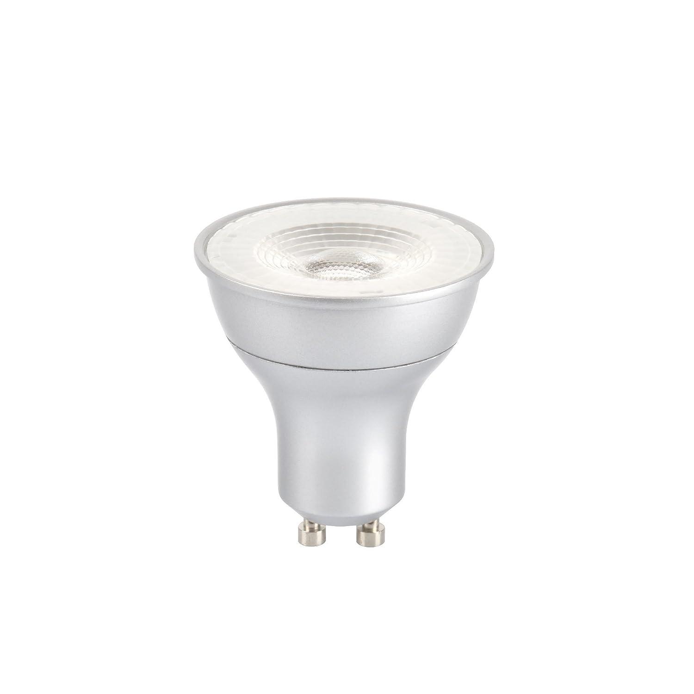 10 x GE LED 5.5w = 50w Dimmable GU10 35 Degrees Beam Angle Warm White 3000k 240v (GE 84620)