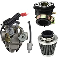 GOOFIT PD24J Carburadore Moto 24mm con Filtro
