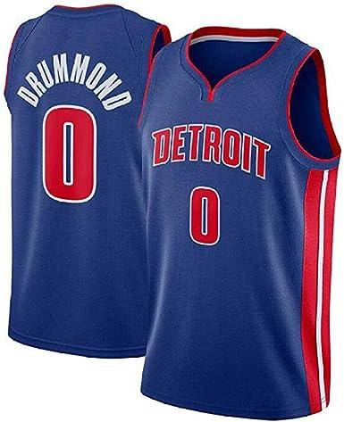 Andre Drummond #0 Camiseta De Baloncesto De Los Hombres - NBA ...
