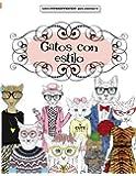 Libros para Colorear Adultos: Gatos con estilo: Volume 2 (Libros superdivertidos para colorear)