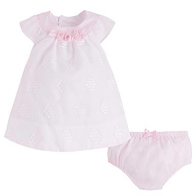 d27756516 Amazon.com: Mayoral Newborn Baby Girls 0M-12M Rose-Pink Embroidered ...