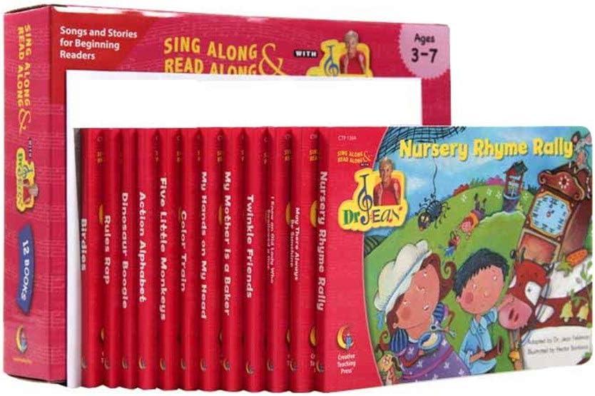GonFan Los Libros para niños Inglés de los niños del bebé de la Ilustración Libro de imágenes Rasgado Cartón Libro de imágenes Rap Inglés (Color : Multi-Colored, Size : 18.6x13.1cm)