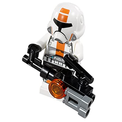 LEGO Republic Trooper Minifigure with Heavy Gun (2013): Toys & Games