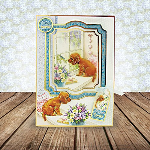 Hunkydory Return of the Little Paws Luxury Collection with 8 Topper Sets Card Kits by HunkyDory Crafts (Image #1)
