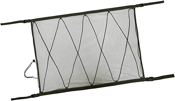 Toygogo 90x60cm Vehicle Car Roof Ceiling Cargo Net Mesh Bag Pouch For Van SUV