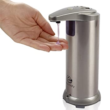 ecodefy automatic touchless hand soap and sanitizer countertop dispenser - Hand Soap Dispenser