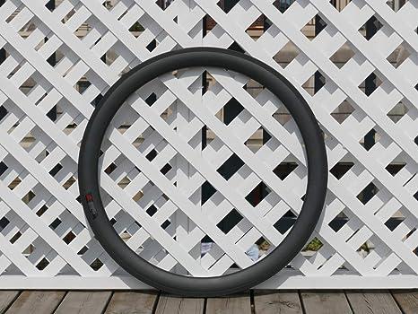 Flyxii - Llantas de Bicicleta de Carbono Mate con Forma de V de 20 ...