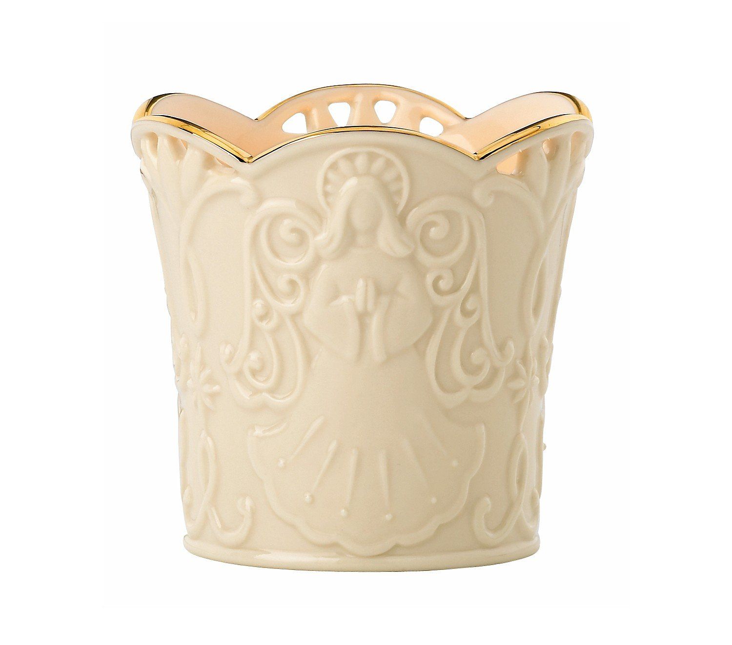 Lenox Merry Lights Angel Votive Candle Holder