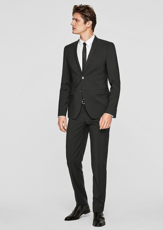 s.Oliver BLACK LABEL Pantalones de Traje para Hombre