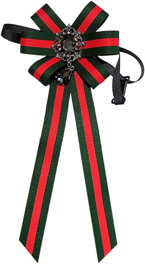 Fascigirl Cinta Corbata de MoñO, Corbata para Mujer Broche ...