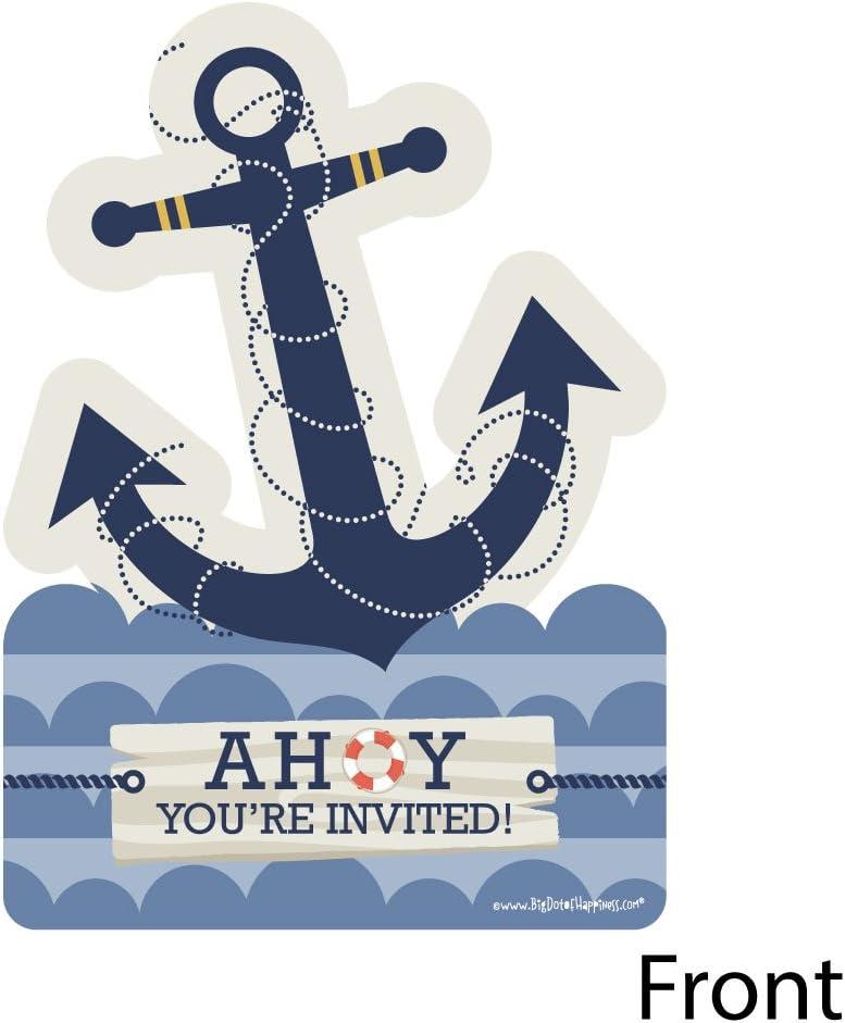 Nautica Girl Invitationnautica baby shower invitation nautica boy invitationPROFESSIONALLY PRINTED also available in digital format