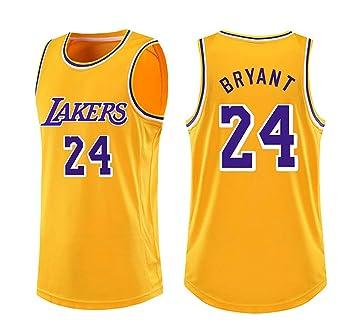 YANDDN - Camiseta de Baloncesto n.º 24 de Kobe Bryant, Ropa de ...