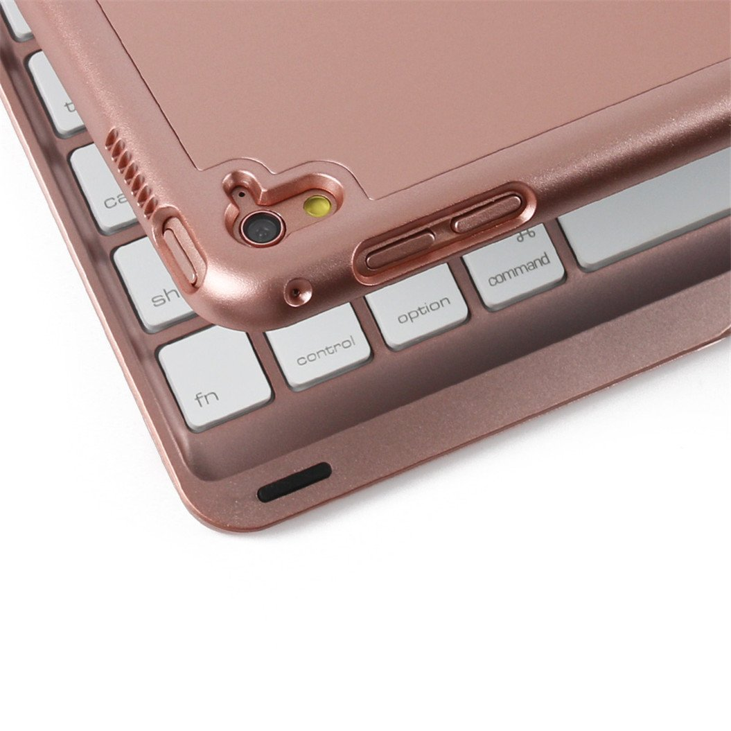 Bluetooth Mini 3 Keyboard Caseyimiky 7 Colors Backlit Wireless I8 With Colour Backlight Stand Folio Hard Shell
