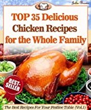 Top 35 Amazingly Delicious Chicken Recipes To Impress Your Loved Ones (The Best Recipes For Your Festive Table Book 1)