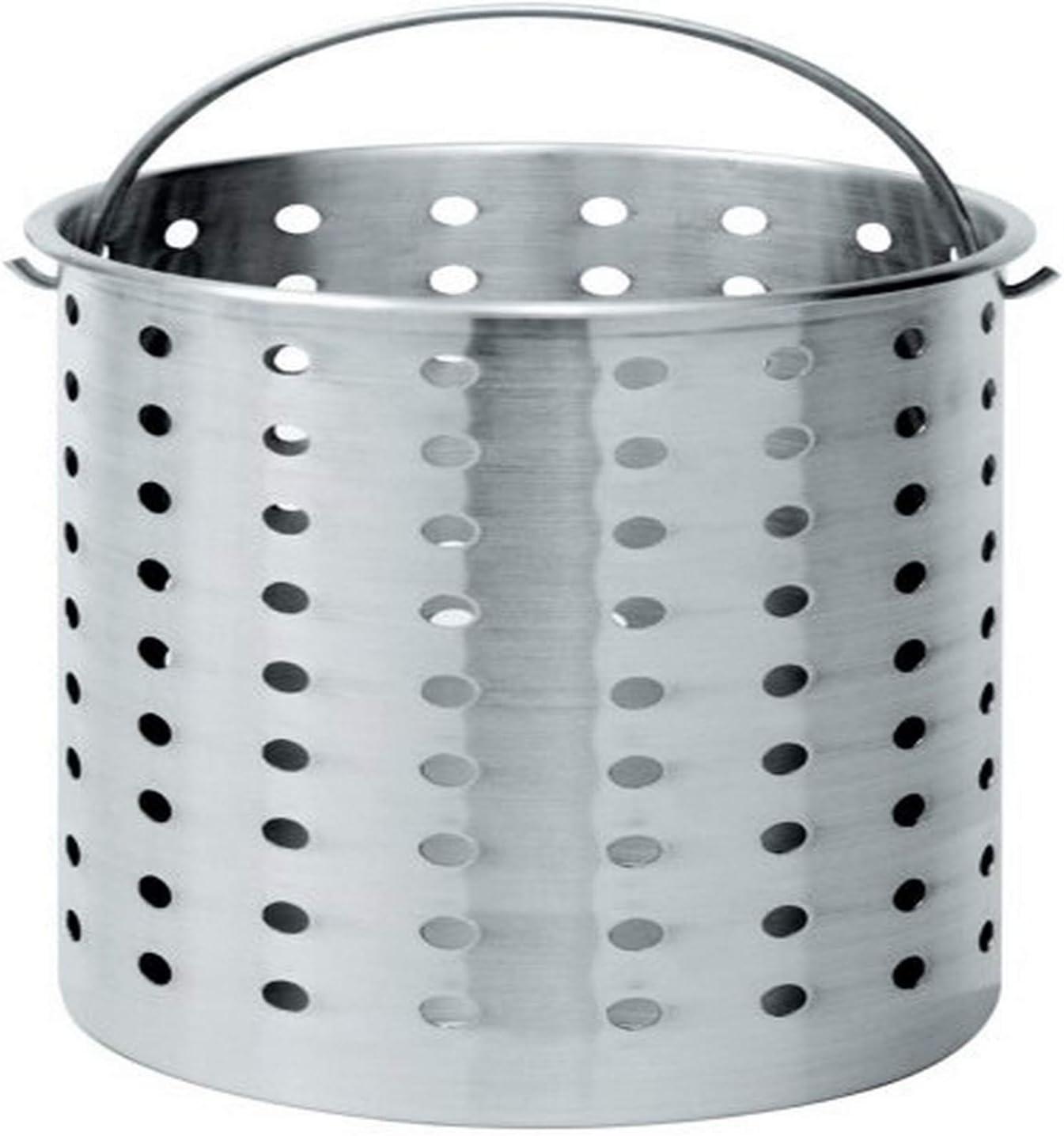 B000VXIR4C Bayou Classic B800, 80-Qt. Perforated Basket, aluminum 61jZvNtrL1L