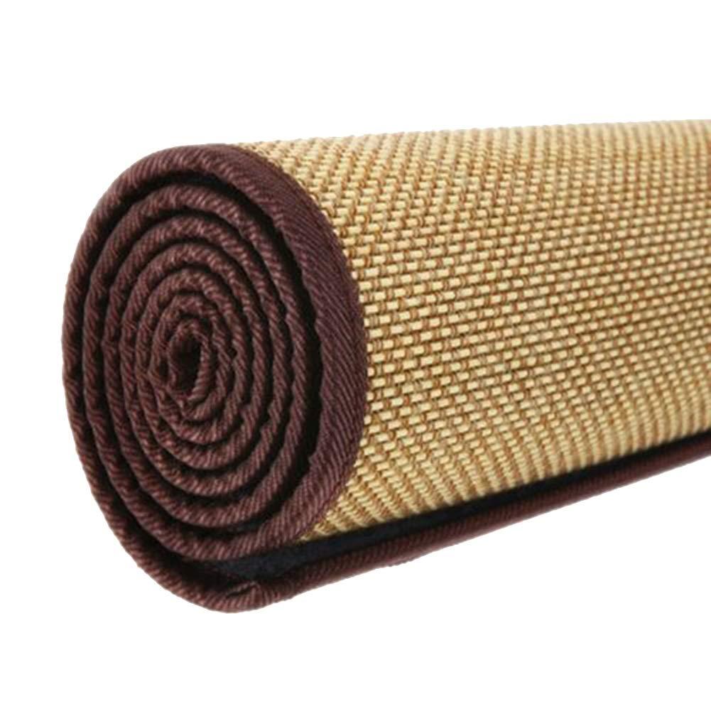 GUORRUI 竹ラグ 夏 なめらか さわやか 汗 耐湿性 バリなし 環境を守ること 残り 寝室、 2つの様式、 カスタマイズのサポート (色 : A, サイズ さいず : 1.5x2.1m) B07RL7996Z A 1.5x2.1m