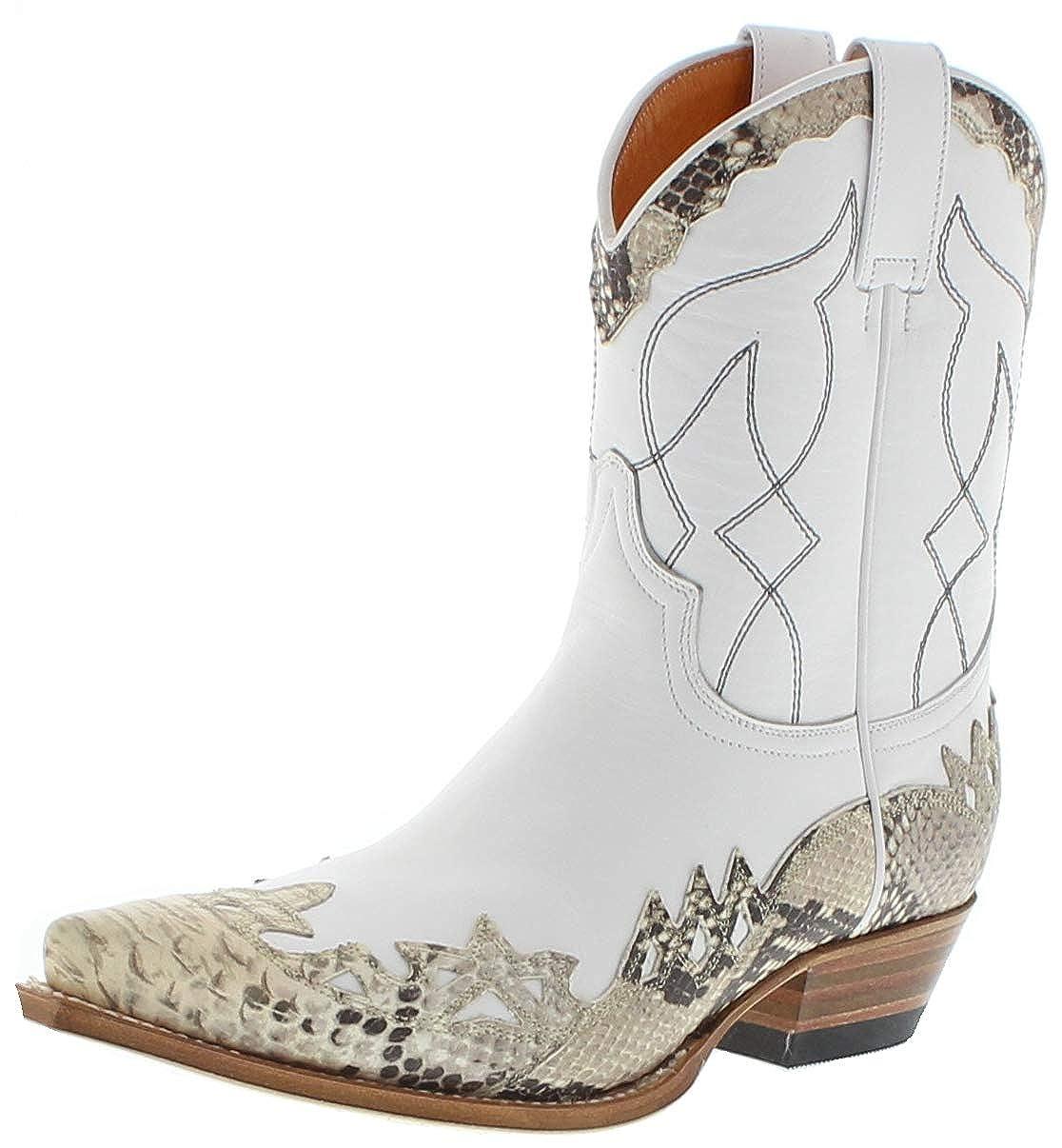 Circle G Boots Damen Cowboy Stiefel L5142 Black Westernstiefel Lederstiefel Schwarz