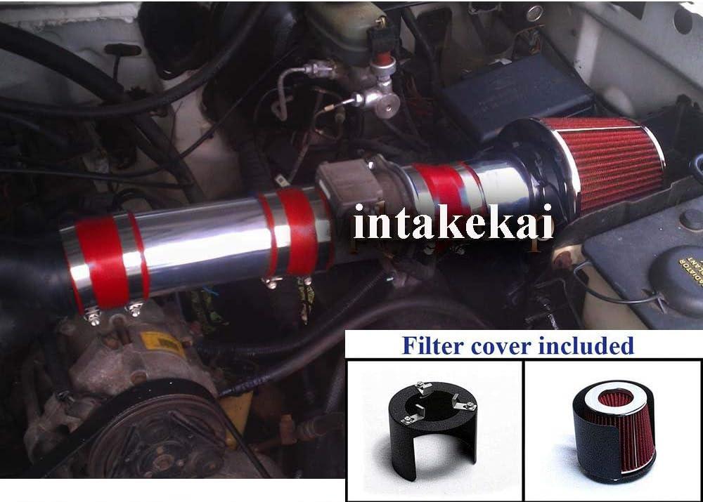 Short Ram Air Intake Kit BLUE for 88-95 F150 //Bronco 5.0 5.8 V8 non MAF Only
