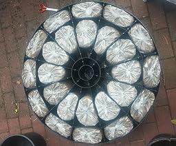 sun garden schirmst nder f r ampelschirm. Black Bedroom Furniture Sets. Home Design Ideas