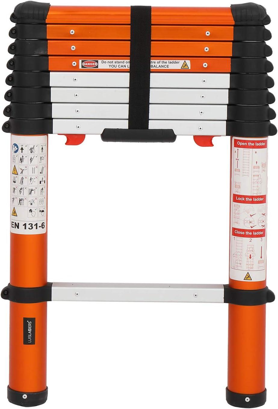 Luisladders Telescoping Ladder Multi-Use Telescopic Extension Ladder