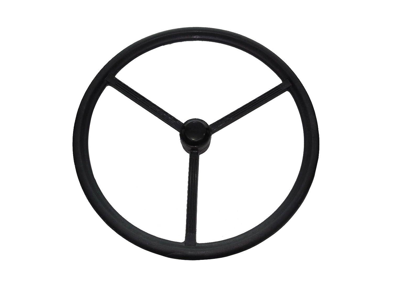 Splined center D6NN3600B New Ford Tractor Steering Wheel W//Cap 8N 2000 2600 3000 4000 5000 7000