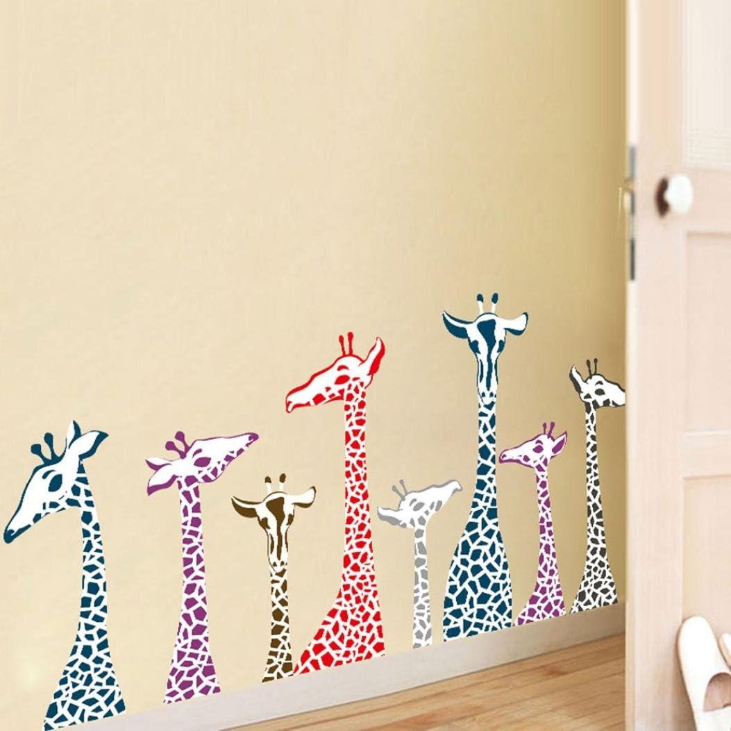 Amazon.com: Transer Familia de bricolaje jirafa extraíble ...