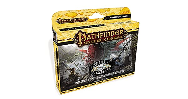 Amazon.com: Pathfinder Adventure Card Game: Skull & Shackles ...