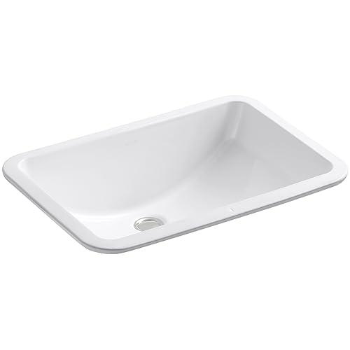 Kohler Double Bathroom Sink: KOHLER Undermount Bathroom Sink: Amazon.com