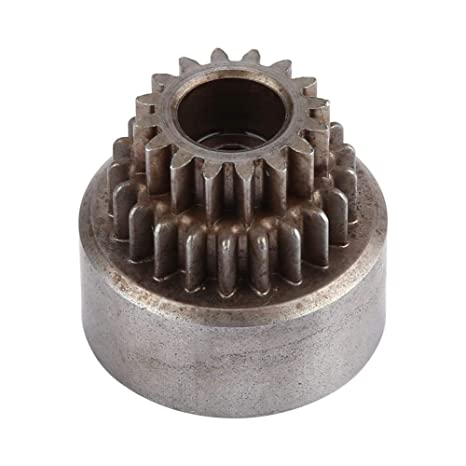 Alomejor 02023 Campana de Embrague de Metal (Engranajes Dobles) para HSP 94122 Nitro 1