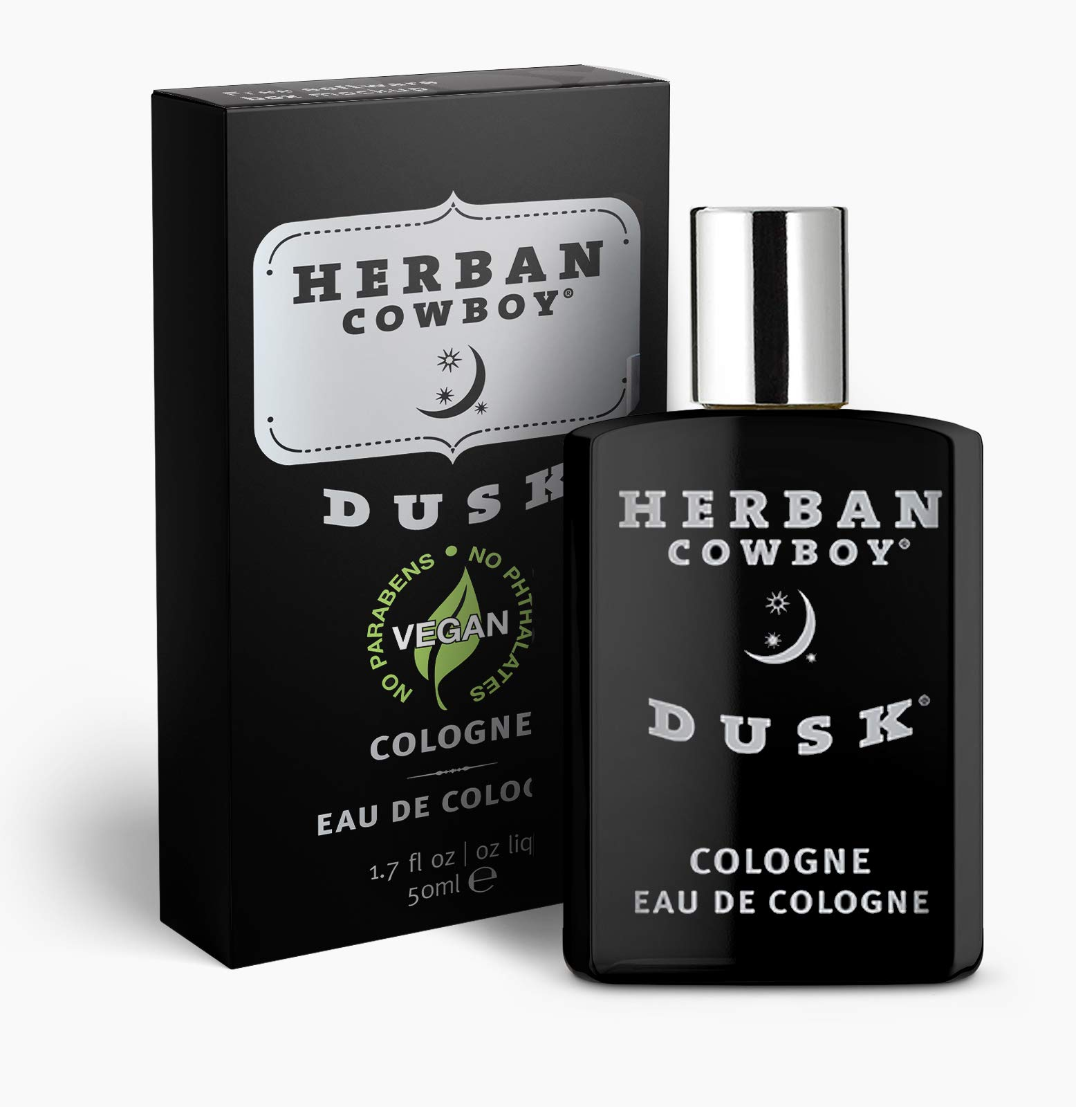 Herban Cowboy Men's Cologne, Dusk, 1.7 Ounce
