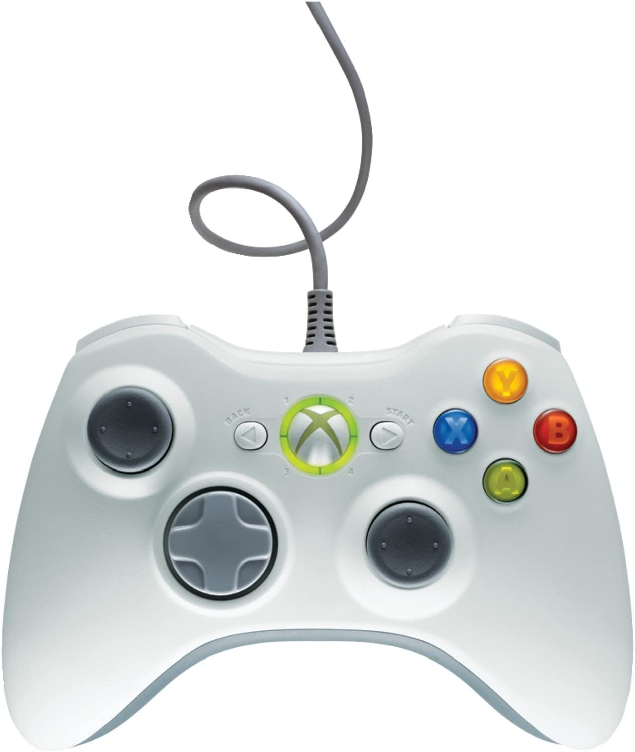Amazon.com: Xbox 360 Wired Controller: Artist Not Provided: Video Games