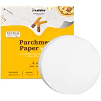 """Katbite Patty Paper Sheets 200, 4"""" Parchment Paper Rounds for Burger Patty (5 in Available)"""