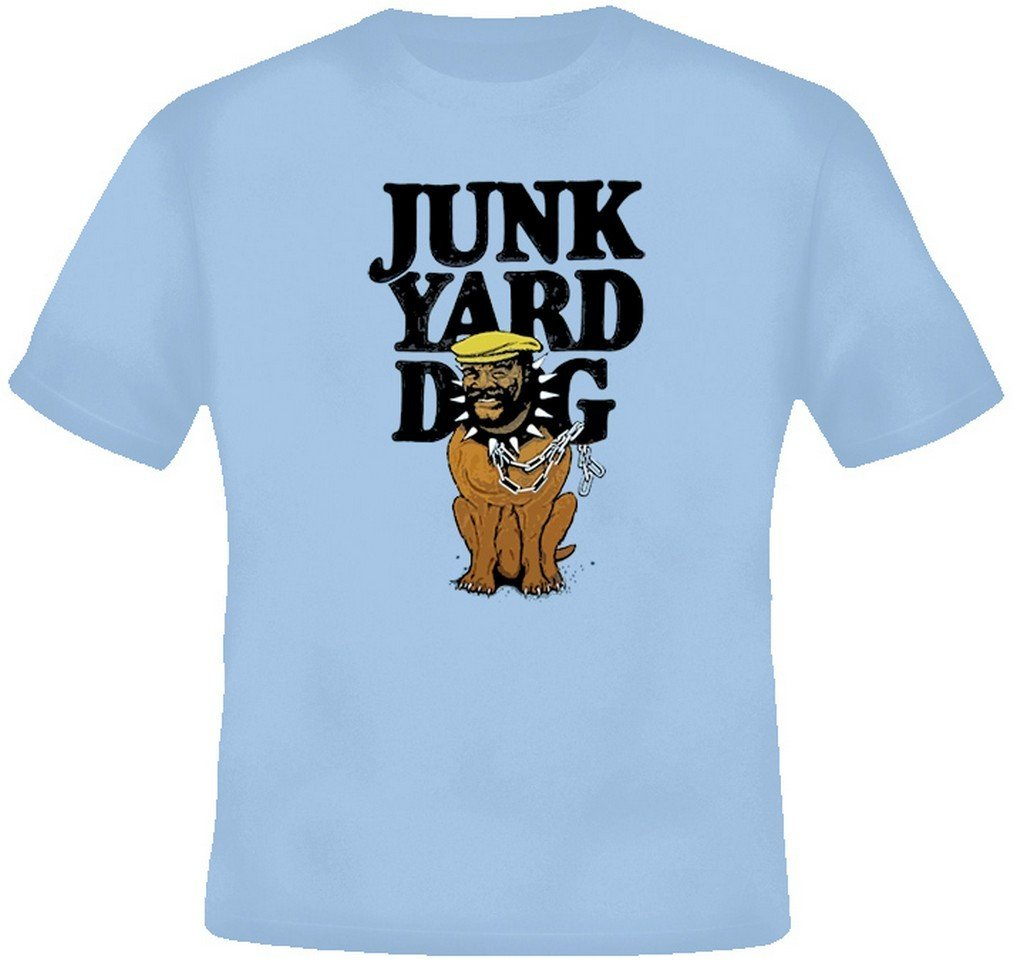 JunkYard Dog JYD Retro Wrestling T Shirt XL Light Blue