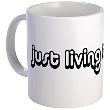 Lovely CafePress   Just Living The Dream Mug   Unique Coffee Mug, Coffee Cup