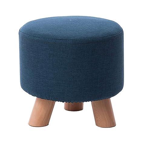 Astonishing Amazon Com Dwlxsh Upholstered Foot Rest Stool Canvas Machost Co Dining Chair Design Ideas Machostcouk