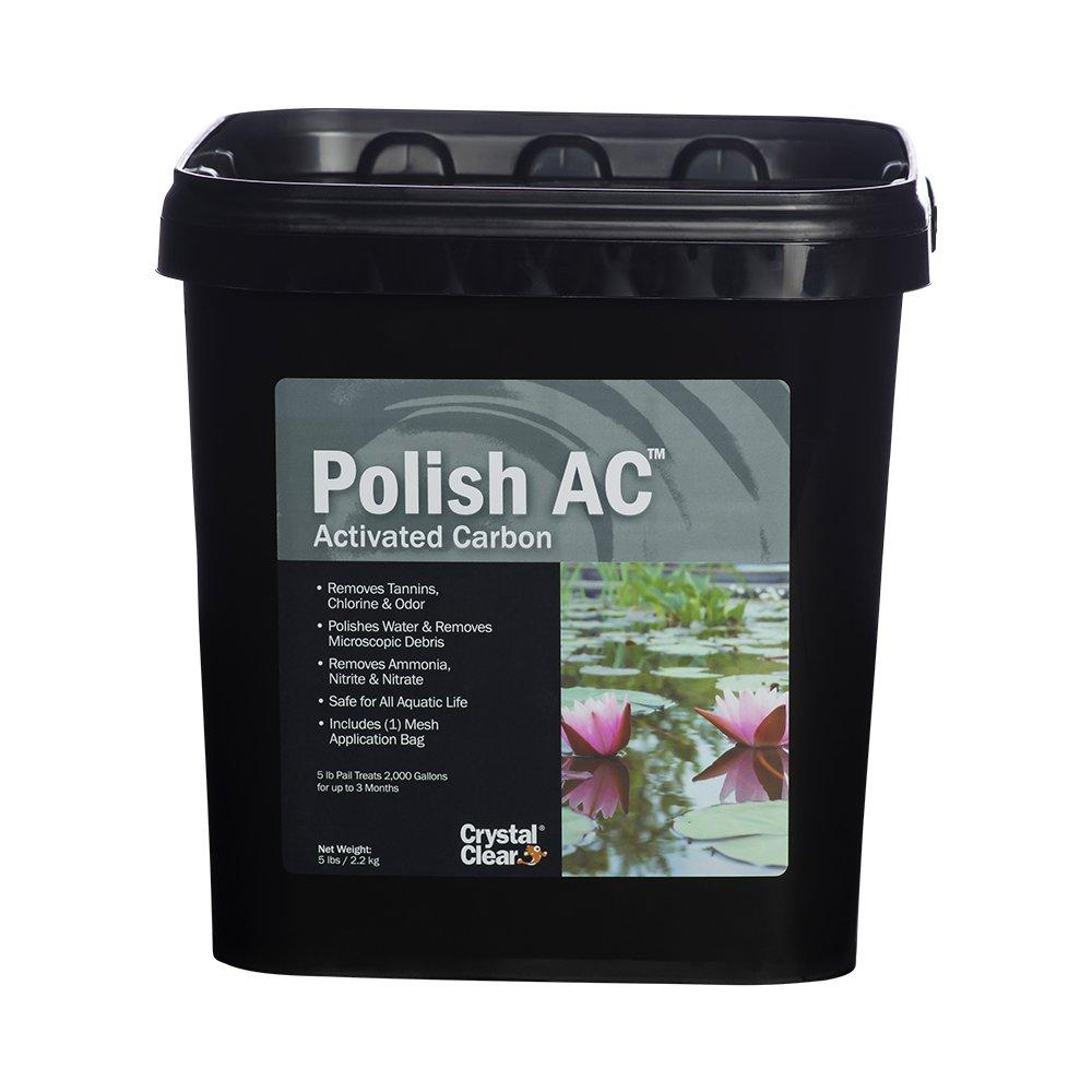 CrystalClear Polish AC, Activated Carbon, 5 lbs