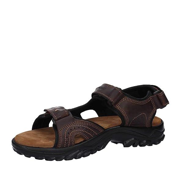 herren sandalen grisport 40506 tv.43 sandalen man braun braun