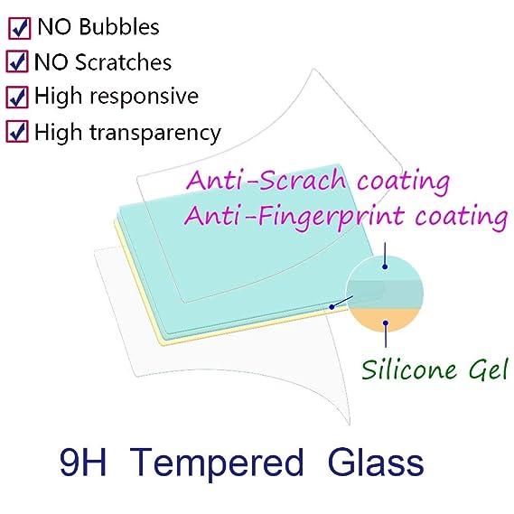 SONWO 9H H/ärte und Bubble Free HD Klar Glas Displayschutz f/ür Huawei Y6 2019 2 St/ück Huawei Y6 2019 Displayschutzfolie